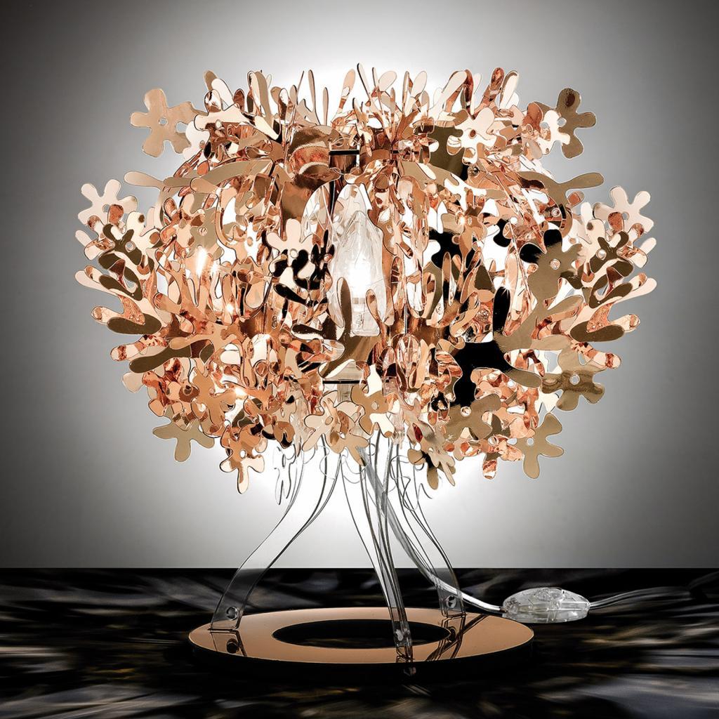 Produktové foto Slamp Slamp Fiorellina - měděná stolní lampa