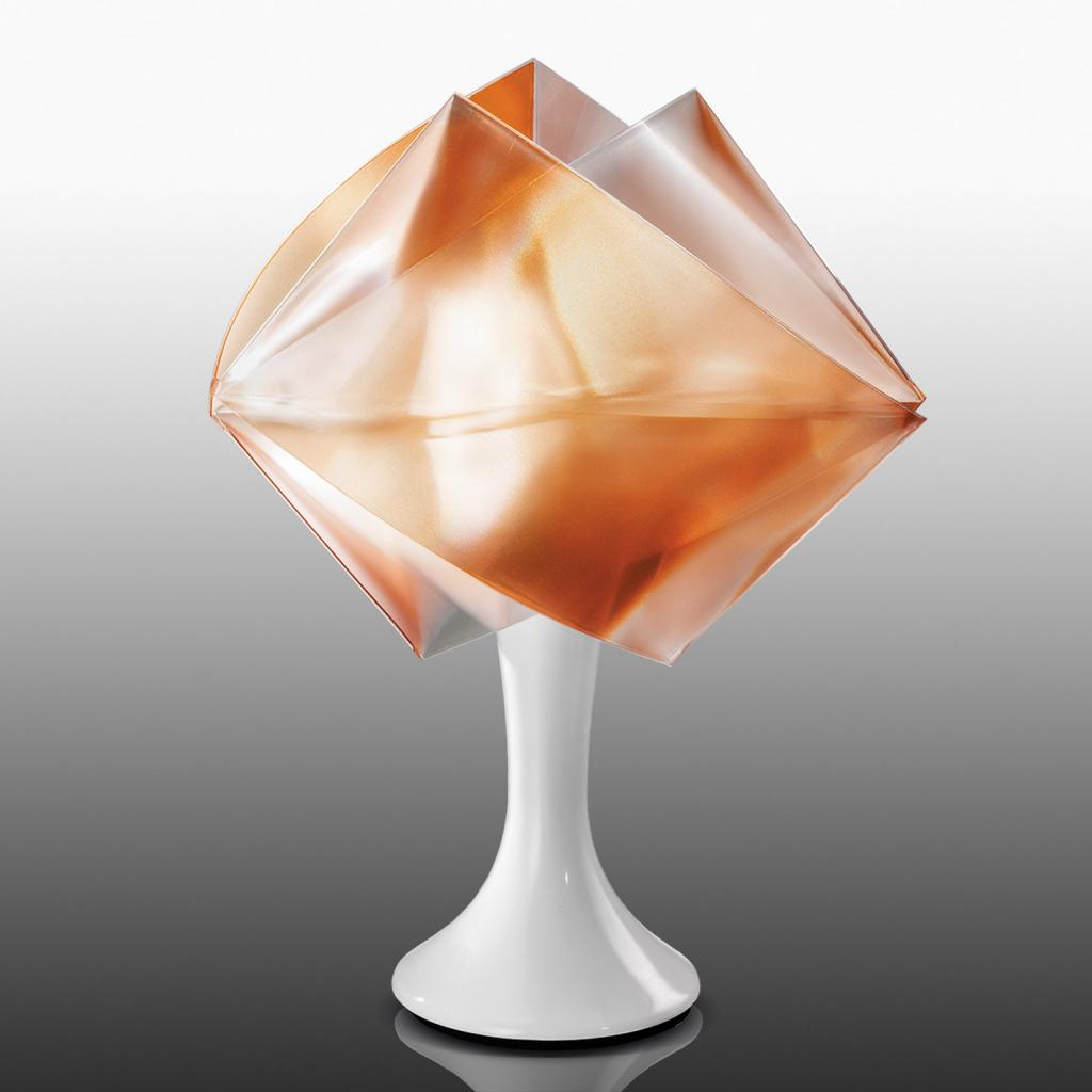Produktové foto Slamp Slamp Gemmy Prisma - stolní lampa, jantarová