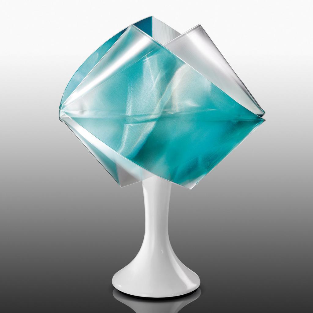 Produktové foto Slamp Slamp Gemmy Prisma - stolní lampa, zelená
