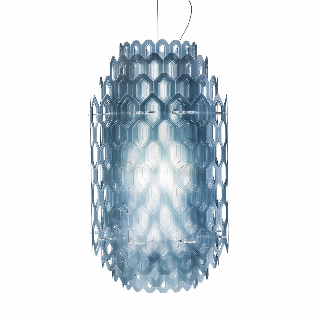 Produktové foto Slamp Slamp Chantal - LED závěsné světlo, 60 cm, modré