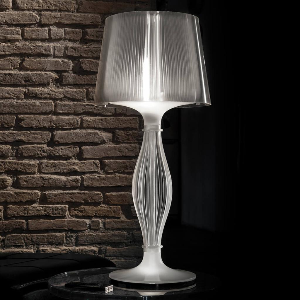 Produktové foto Slamp Slamp Liza - designová stolní lampa, cínová