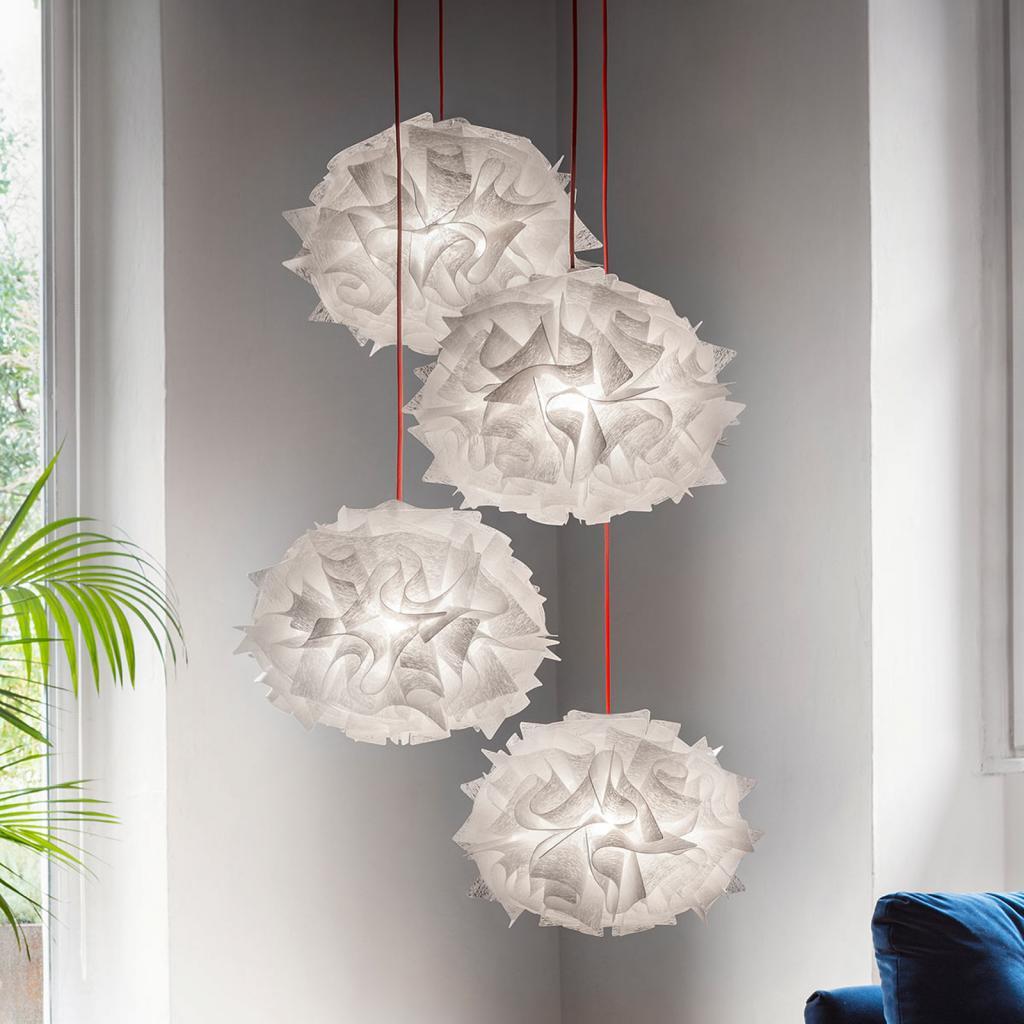 Produktové foto Slamp Slamp Veli Mini Quartet Couture závěsné světlo