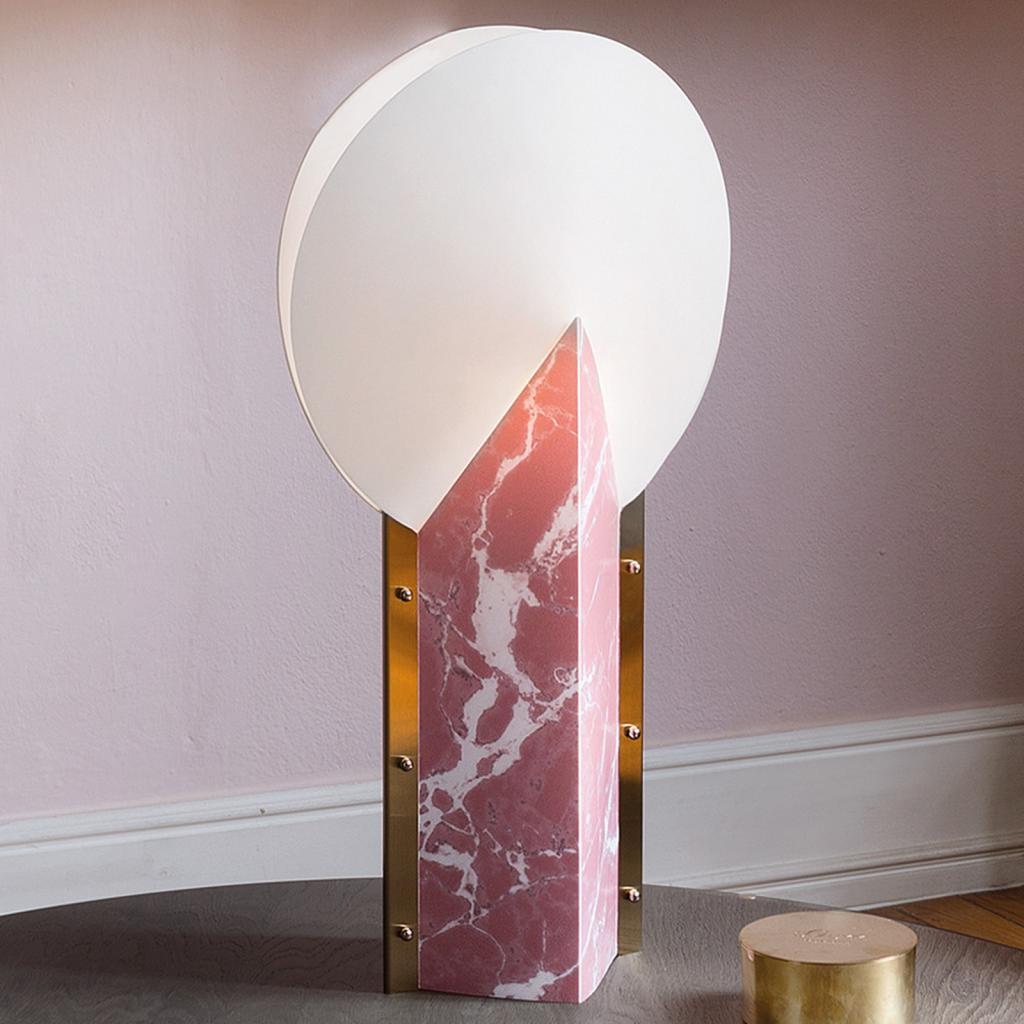 Produktové foto Slamp Slamp Moon 25th Anniversary stolní lampa růžová