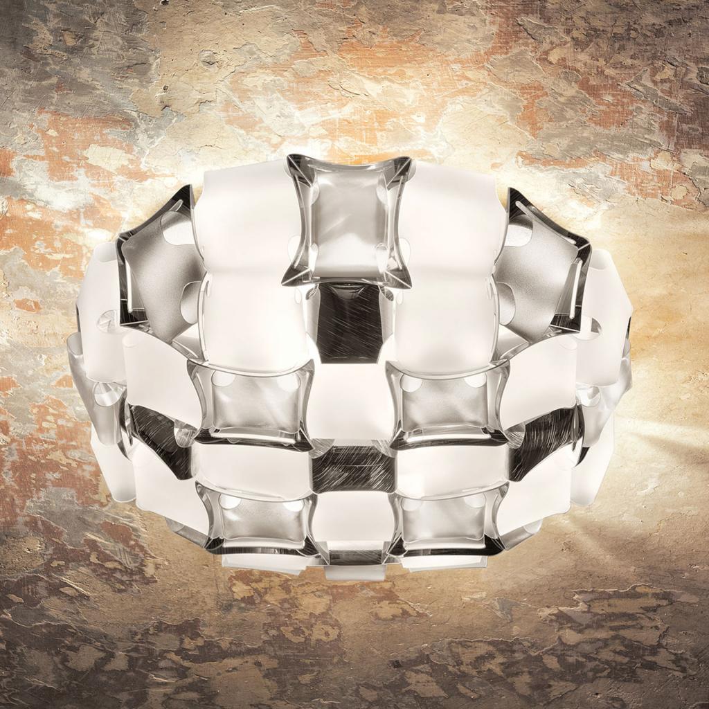 Produktové foto Slamp Slamp Mida stropní světlo, 50 cm, bílá-platinová
