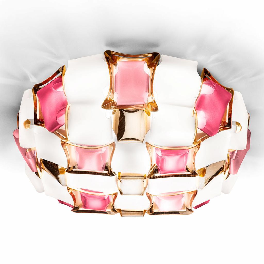 Produktové foto Slamp Slamp Mida stropní světlo, 50 cm, růžová