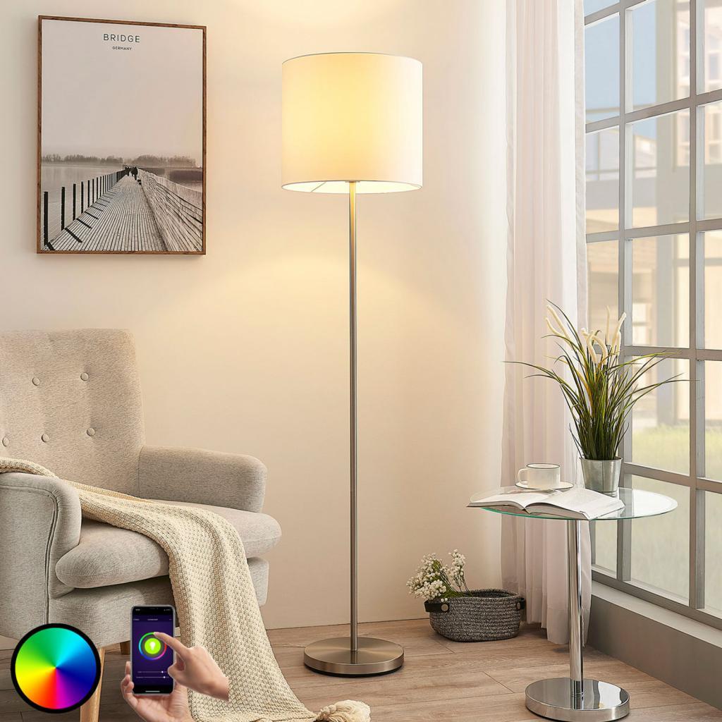Produktové foto Lindby Lindby Smart LED stojací lampa Everly, aplikace