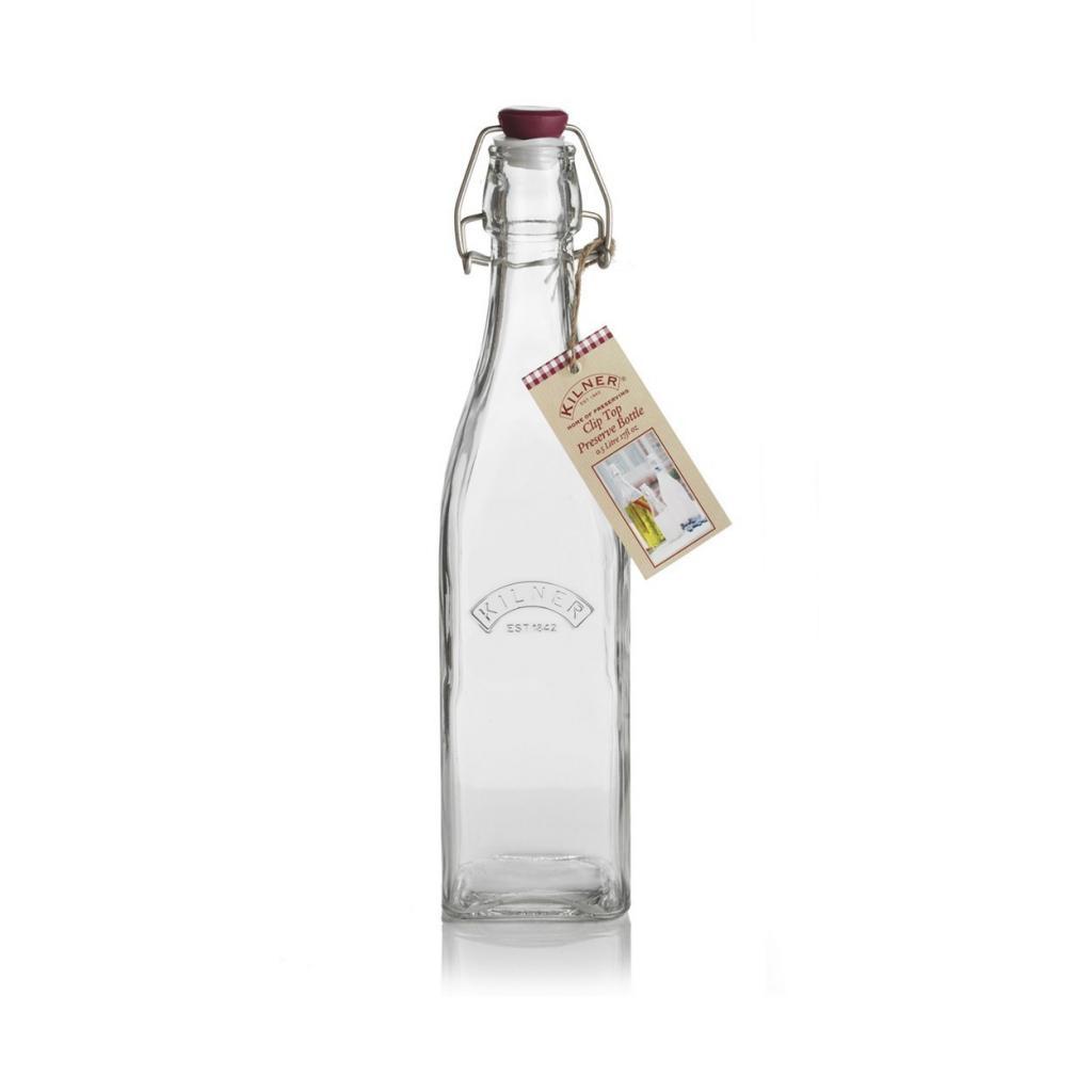 Produktové foto Skleněná láhev Kilner s klipem 0,55 l