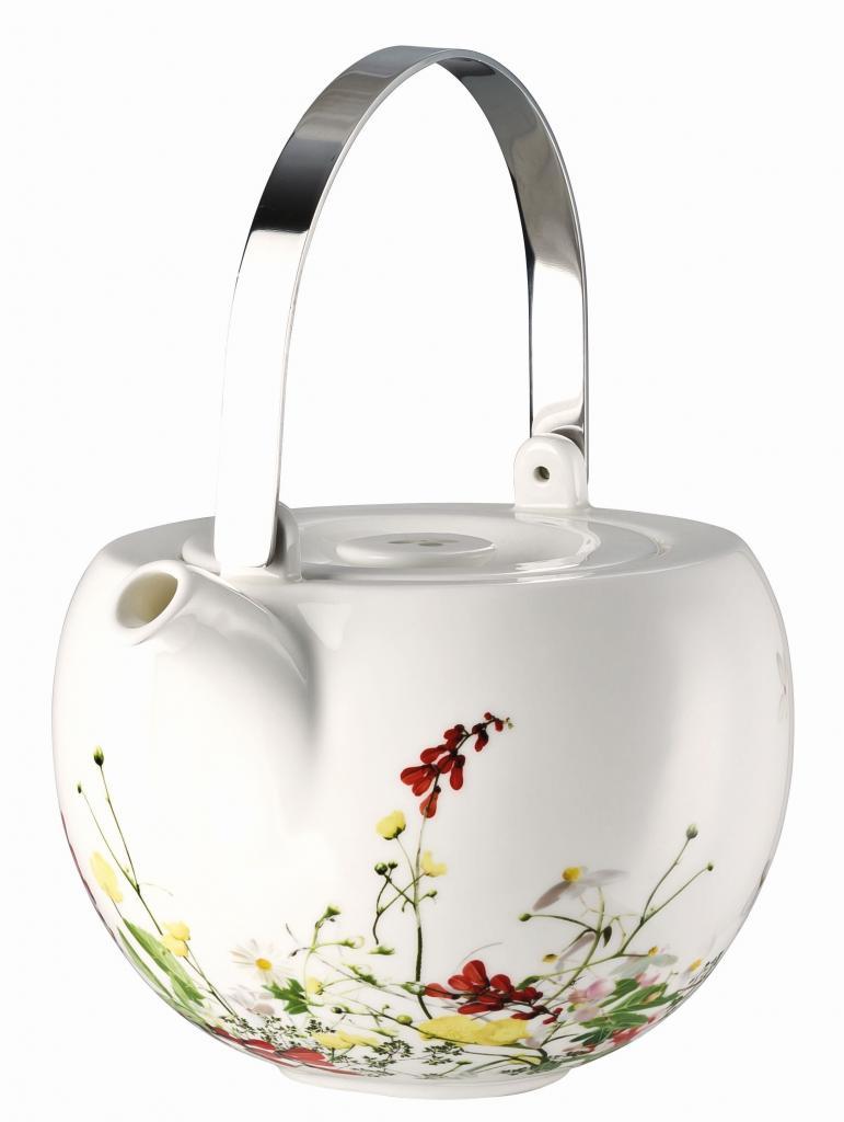 Produktové foto Rosenthal Brillance Fleurs Sauvages Čajová konvice s víkem, 1,35 l