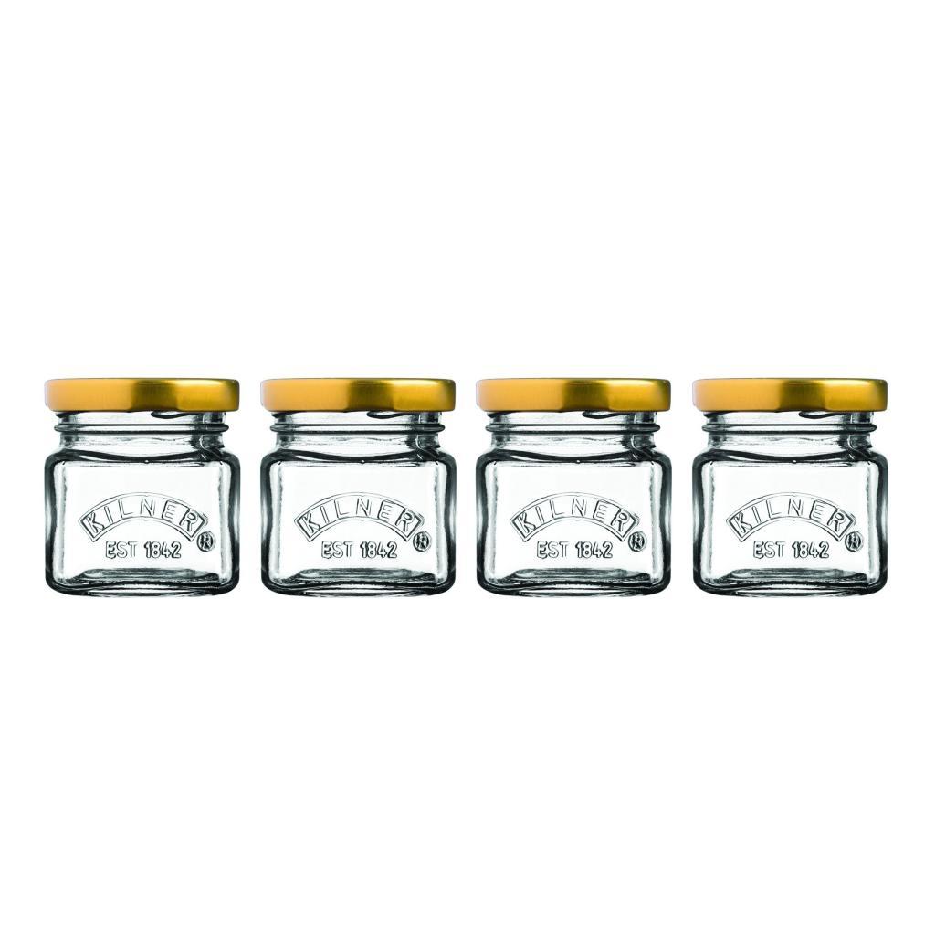 Produktové foto Sada mini zavařovacích sklenic Kilner