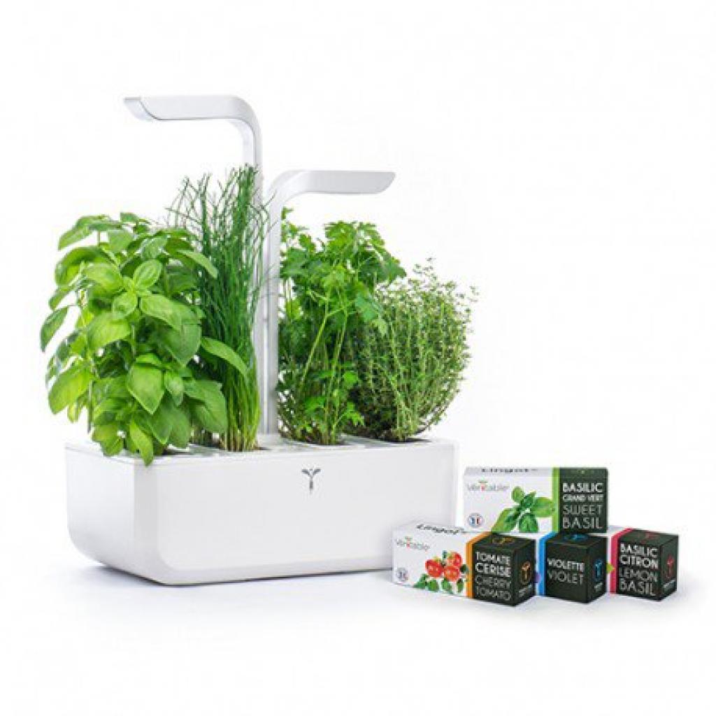 Produktové foto Chytrý květináč Véritable® CLASSIC, bílý