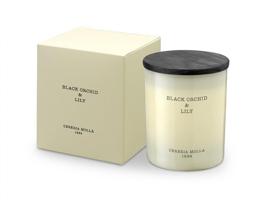 Produktové foto Cereria Mollá vonná svíčka Black Orchid & Lily, 230 g