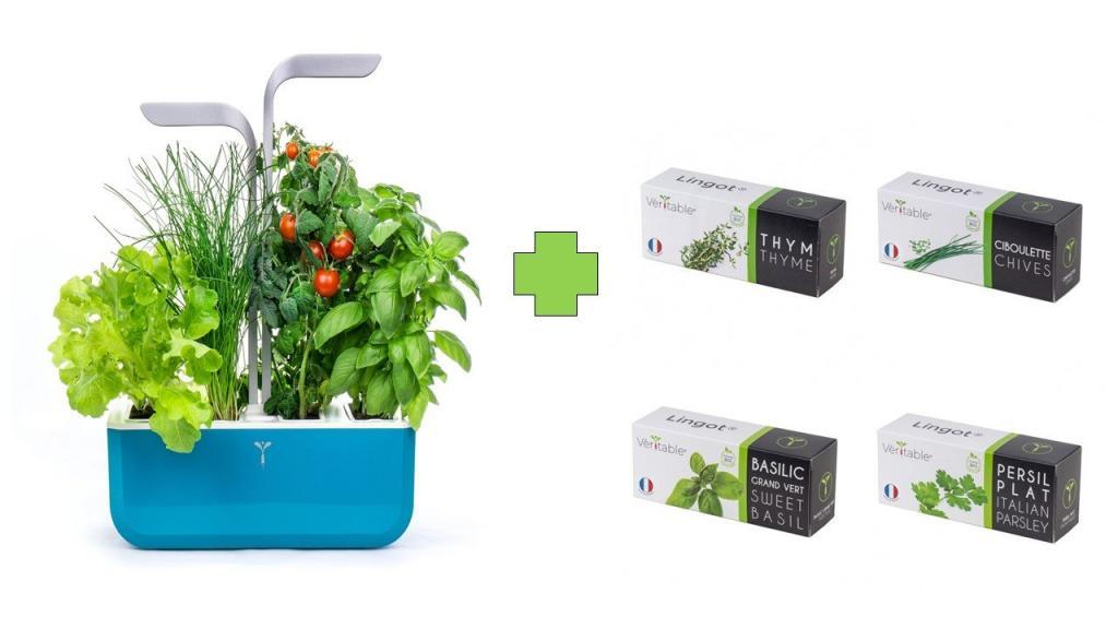 Produktové foto Chytrý květináč Véritable® SMART, tyrkys