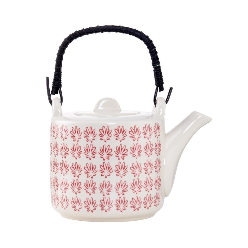Produktové foto RETRO Konvička na čaj - červená