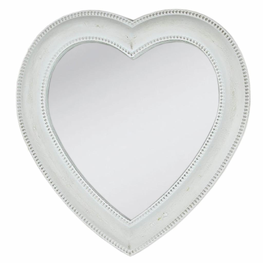 Produktové foto Zrcadlo ve tvaru srdce - 27*3*28 cm