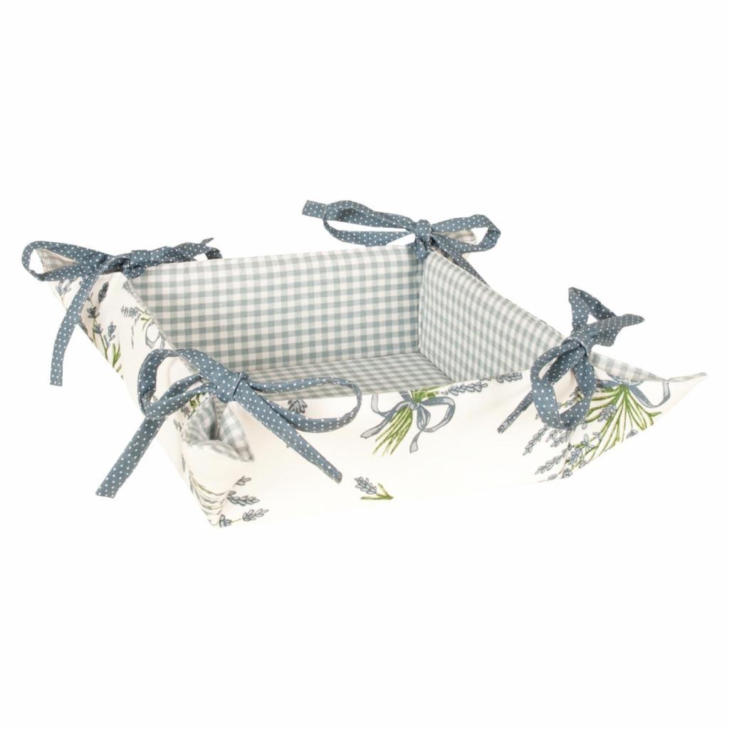 Produktové foto Textilní ošatka Bouquet de Lavande - 35 * 35 cm