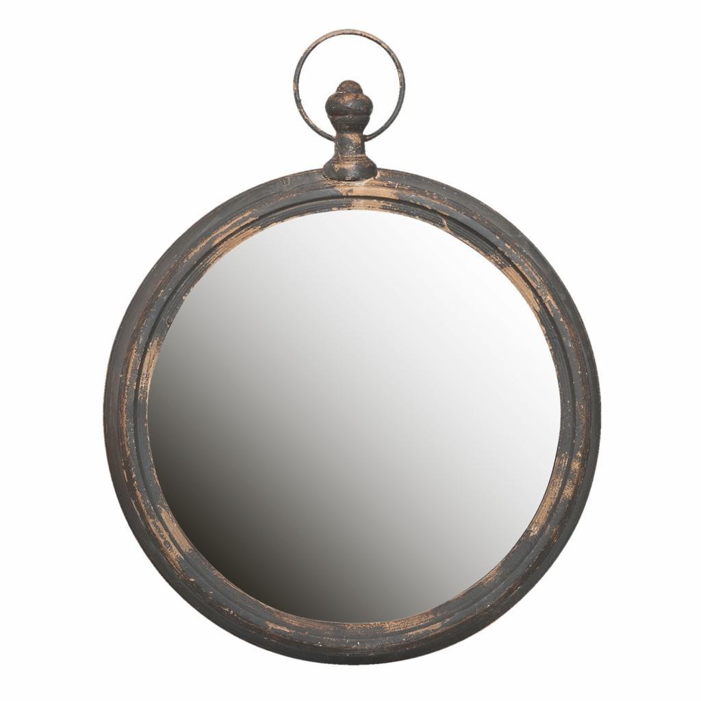 Produktové foto Kulaté retro zrcadlo - 62*6*78 cm