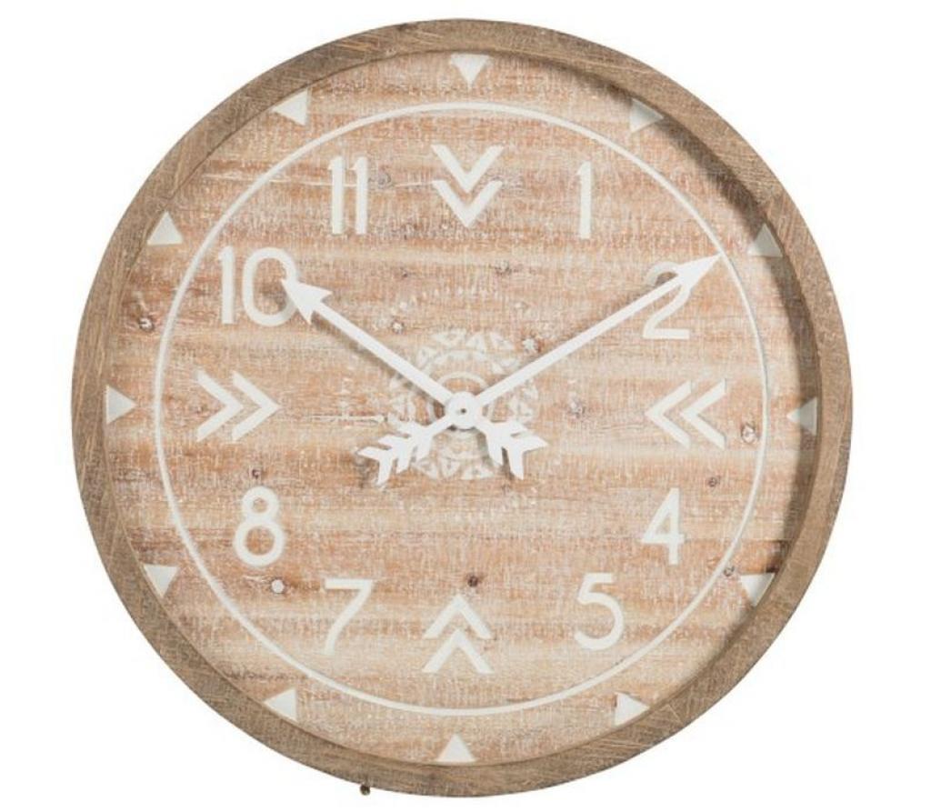 Produktové foto Dřevěné nástěnné hodiny - 83*5*83 cm