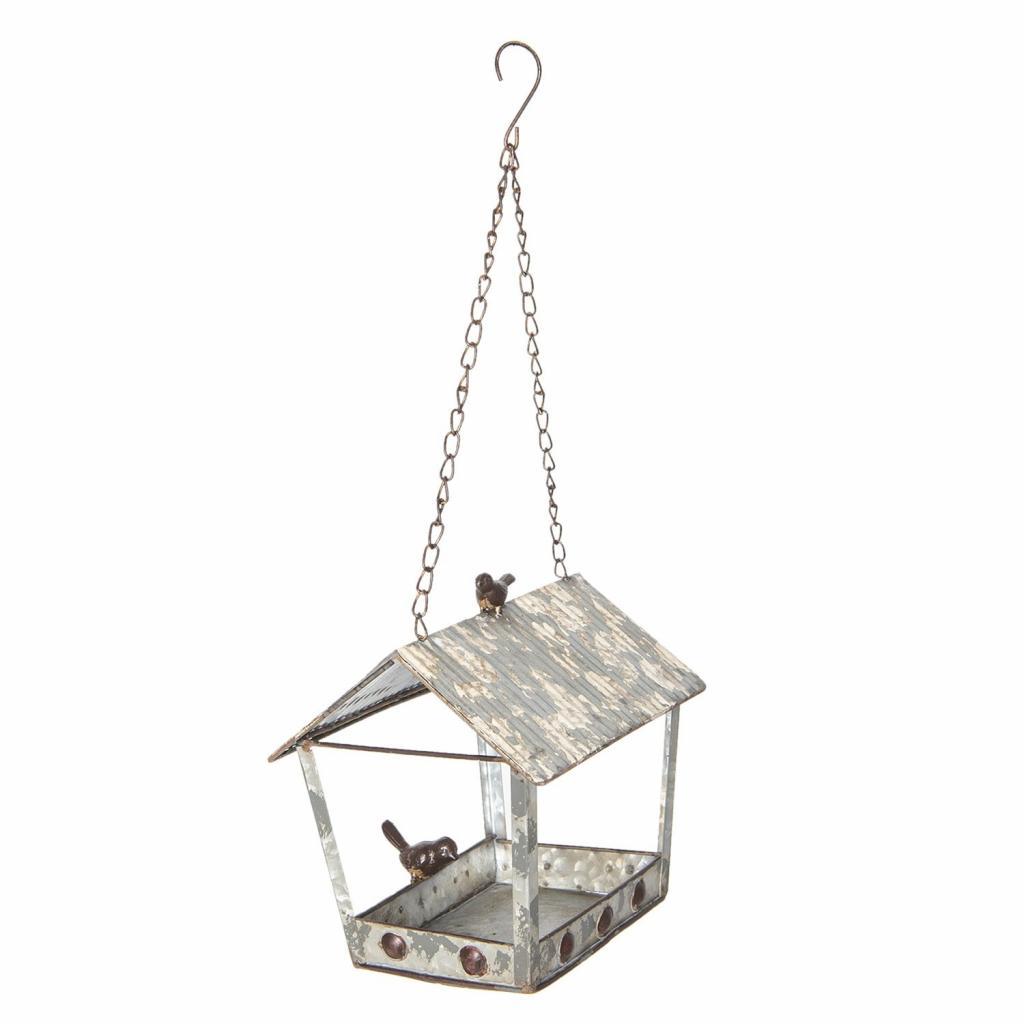 Produktové foto Plechová ptačí budka - 24*17*23 cm