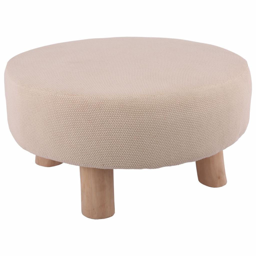 Produktové foto Přírodní stolička Scandinavian - Ø60*30 cm