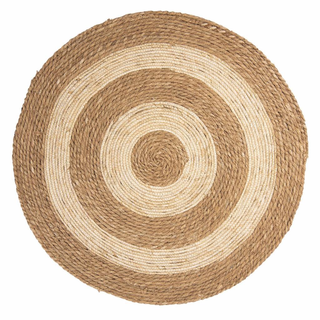 Produktové foto Podlahová rohož/koberec z mořské trávy - Ø 80 cm