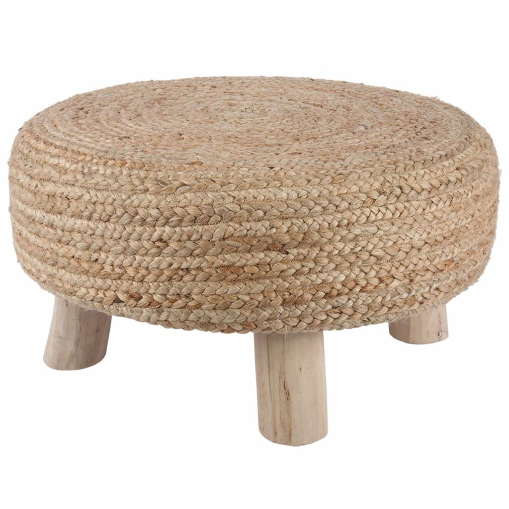 Produktové foto Jutová stolička Vita natural - Ø 60 * 30cm