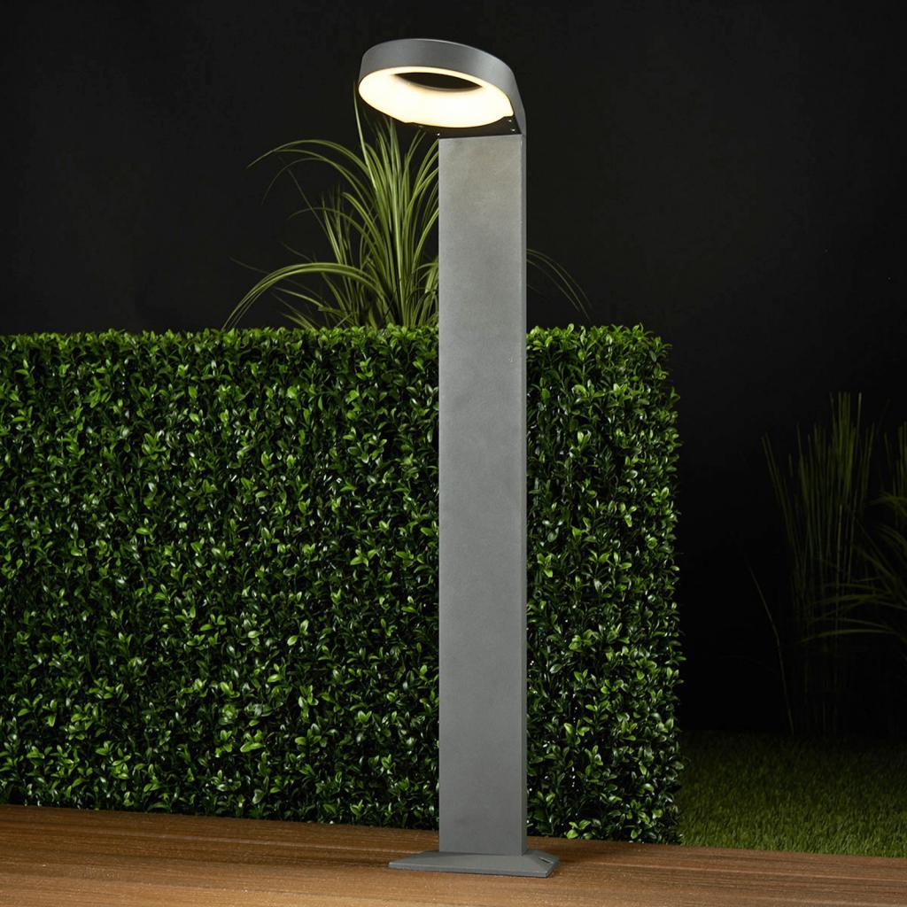 Produktové foto Lucande Moderní zahradní LED svítidlo Jarka