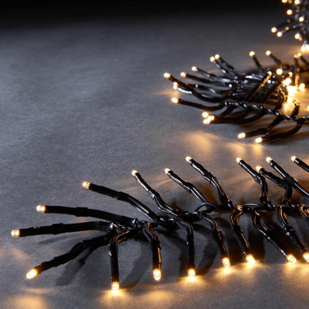Produktové foto BRIGHT LIGHTS Světelný řetěz klubko 576 světel - černá