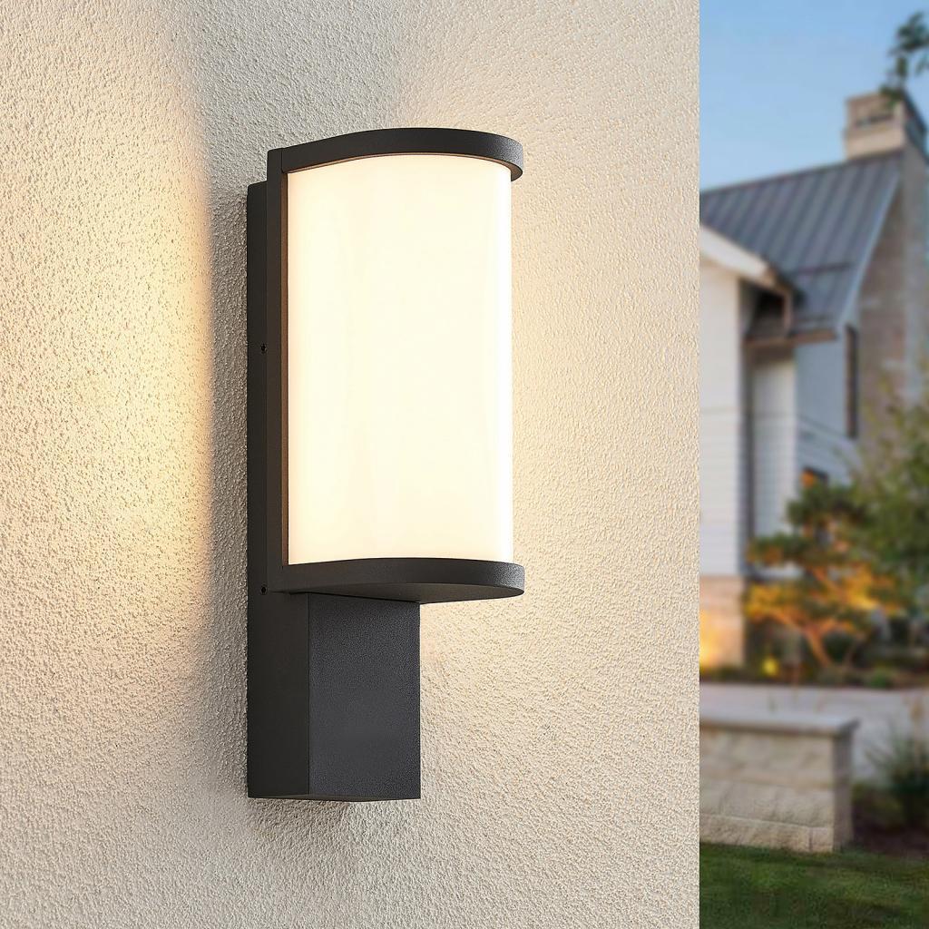 Produktové foto Lucande Lucande Jokum LED nástěnné světlo, IP65