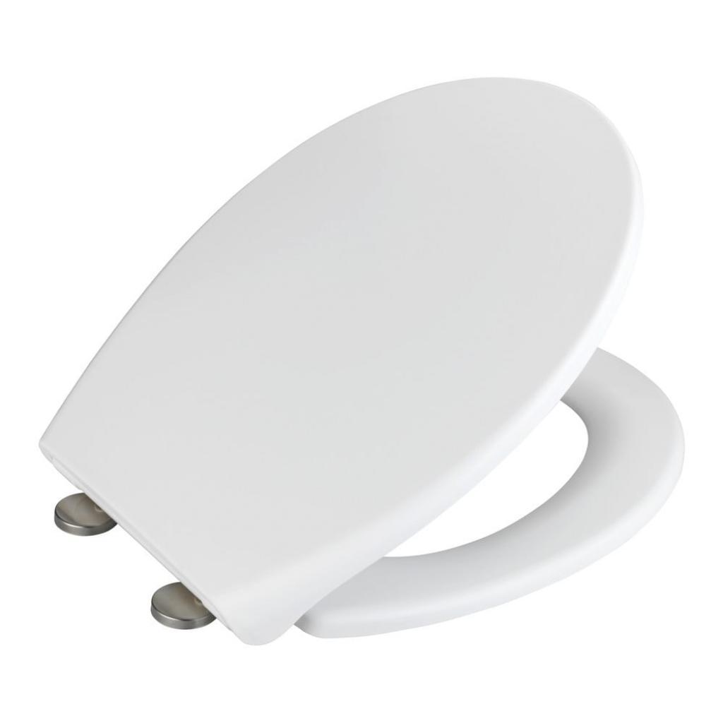 Produktové foto Bílé WC sedátko Wenko Ikaria