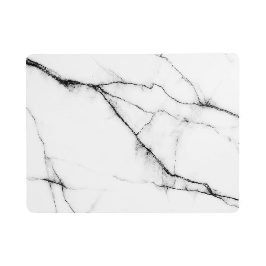 Produktové foto RETRO WAVE Prostírání mramorový vzhled set 6 ks