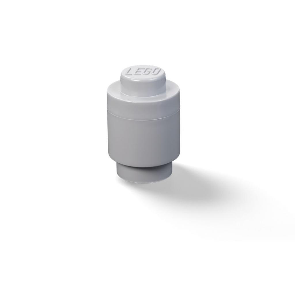 Produktové foto Dětská tmavě šedá úložná dóza LEGO®
