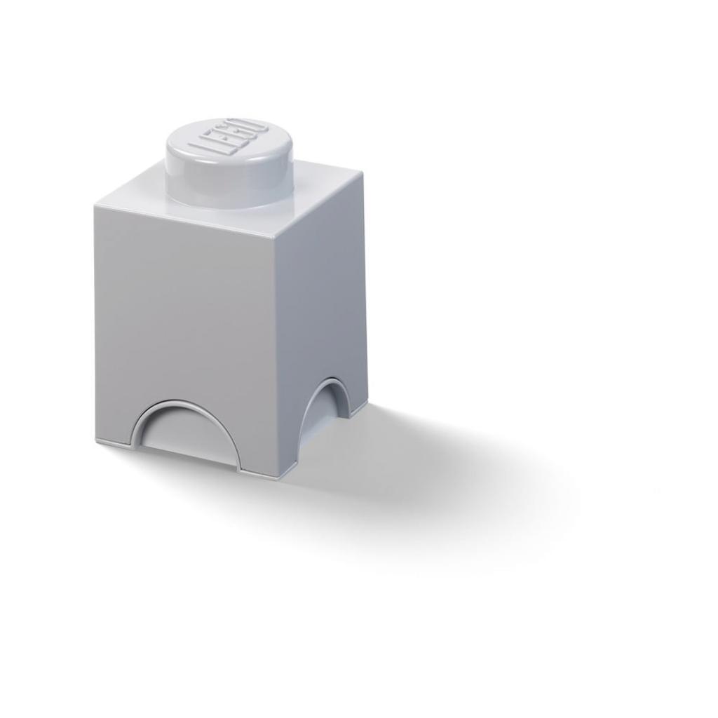Produktové foto Dětský šedý úložný box LEGO® Cuboid