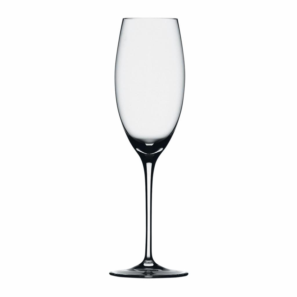 Produktové foto Spiegelau Set 6 sklenic na šampaňské typu flétna Grand Palais Exquisit 6 kusů v balení, ručně foukané