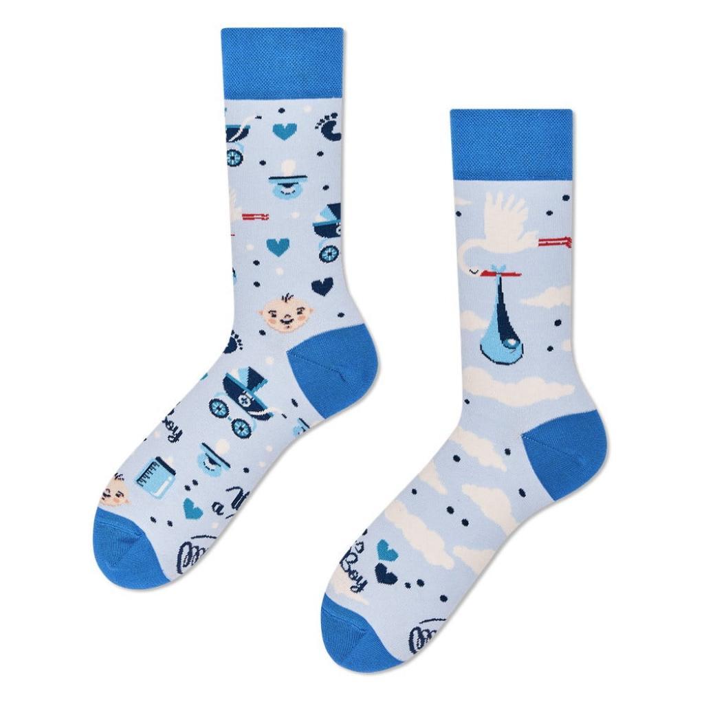 Produktové foto Ponožky Many Mornings It's a Boy,vel.43–46