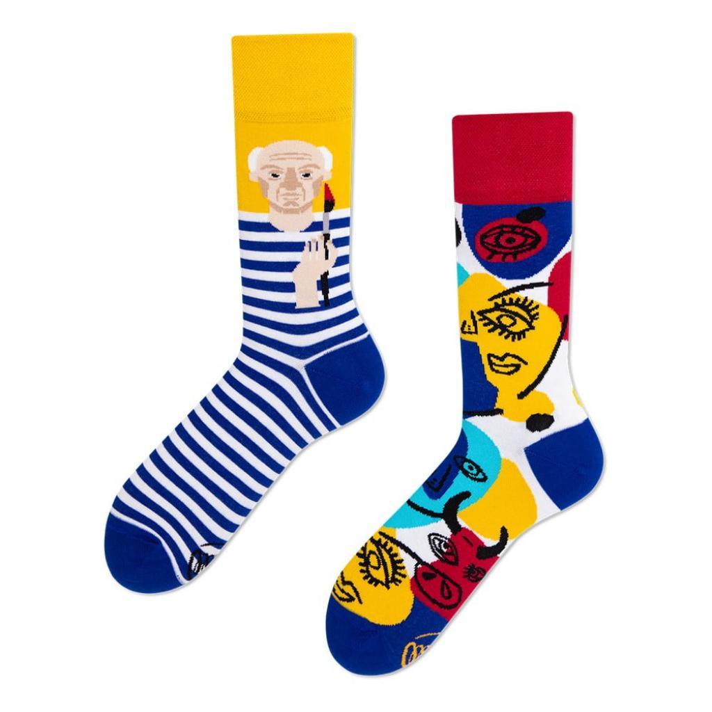 Produktové foto Ponožky Many Mornings Picassocks,vel.39-42