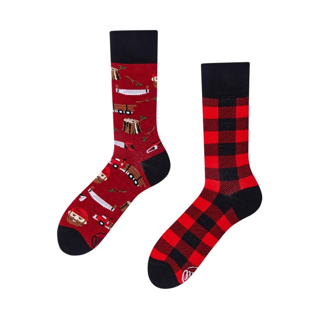 Produktové foto Ponožky Many Mornings Lumberjack Life,vel.39-42