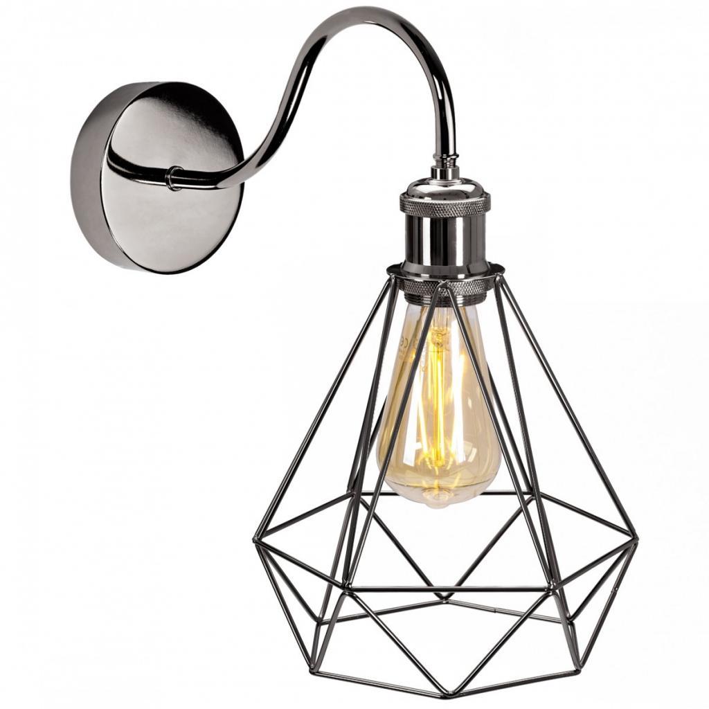 Produktové foto TooLight Nástěnná lampa Olava černá