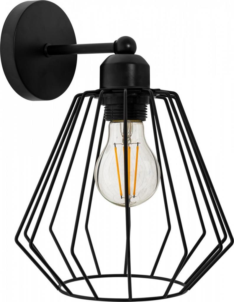 Produktové foto TooLight Nástěnná lampa Runa černá