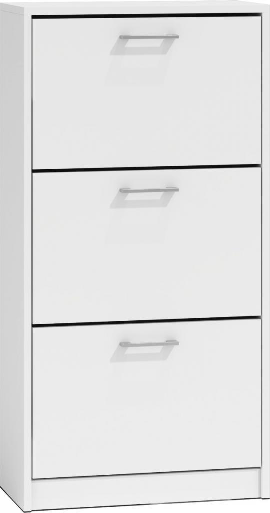 Produktové foto Shoptop Botník PAULA bílý