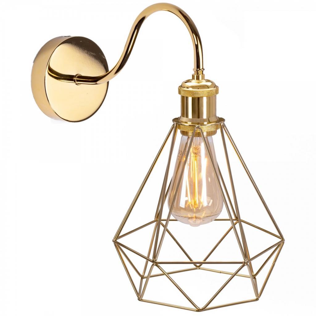 Produktové foto TooLight Nástěnná lampa Olava zlatá