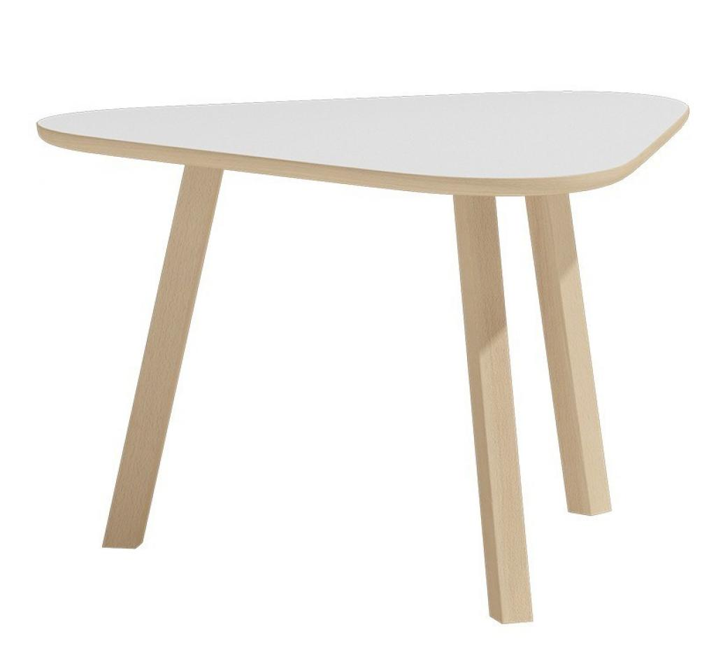 Produktové foto Shoptop Konferenční stolek D1-40 BLAT 80CM Joe bílý
