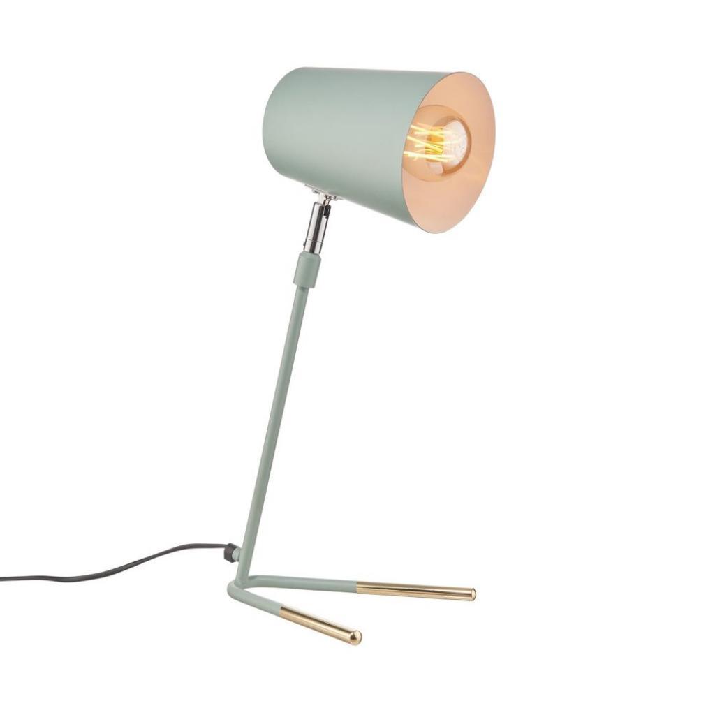 Produktové foto LUXA Stolní lampa 47 cm - šalvějová/zlatá