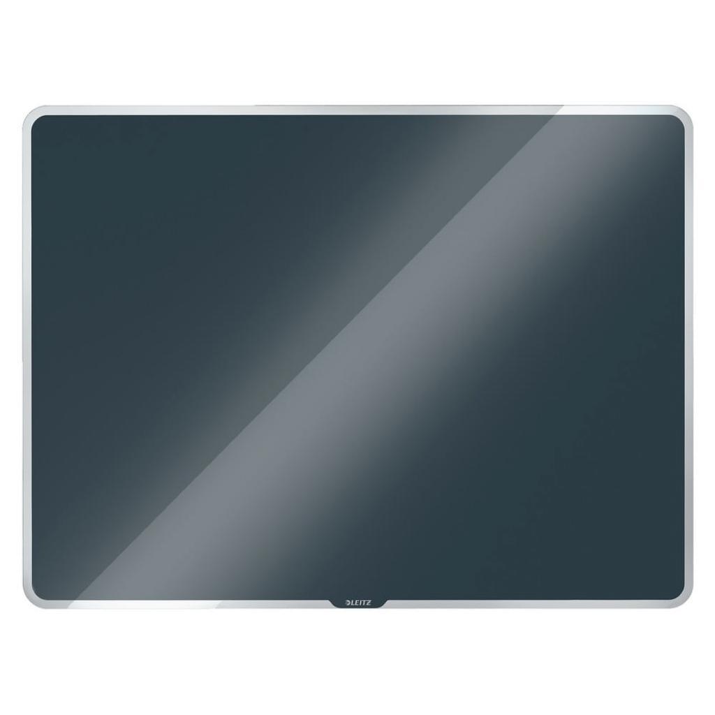 Produktové foto Šedá skleněná magnetická tabule Leitz Cosy, 60 x 40 cm