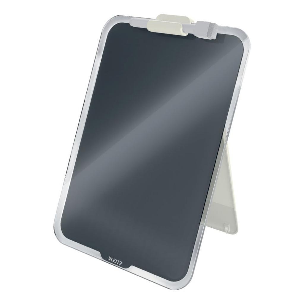 Produktové foto Černý skleněný flipchart na stůl Leitz Cosy, 22 x 30 cm