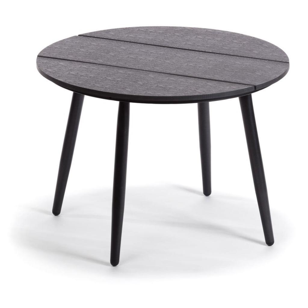 Produktové foto Šedý zahradní stůl Le Bonom Lounge, ø 51 cm