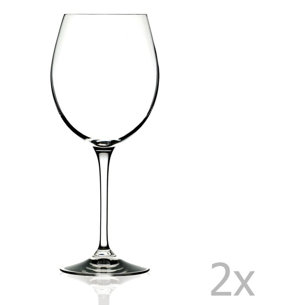 Produktové foto Sada 2 sklenic na víno RCR Cristalleria Italiana Sandra