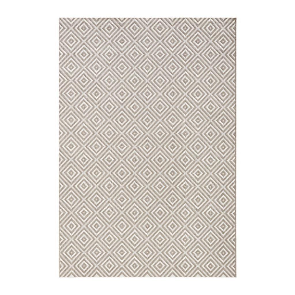 Produktové foto Šedý venkovní koberec Bougari Karo, 160x230cm