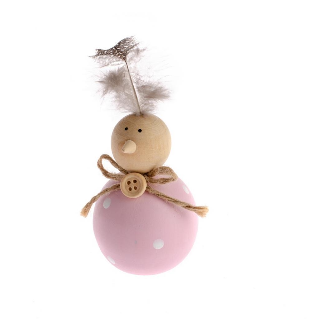Produktové foto Velikonoční dřevěná dekorace Chick, 8 cm