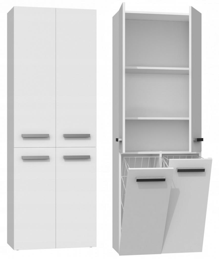 Produktové foto Shoptop Koupelnová skříňka ARDIA 2 bílá