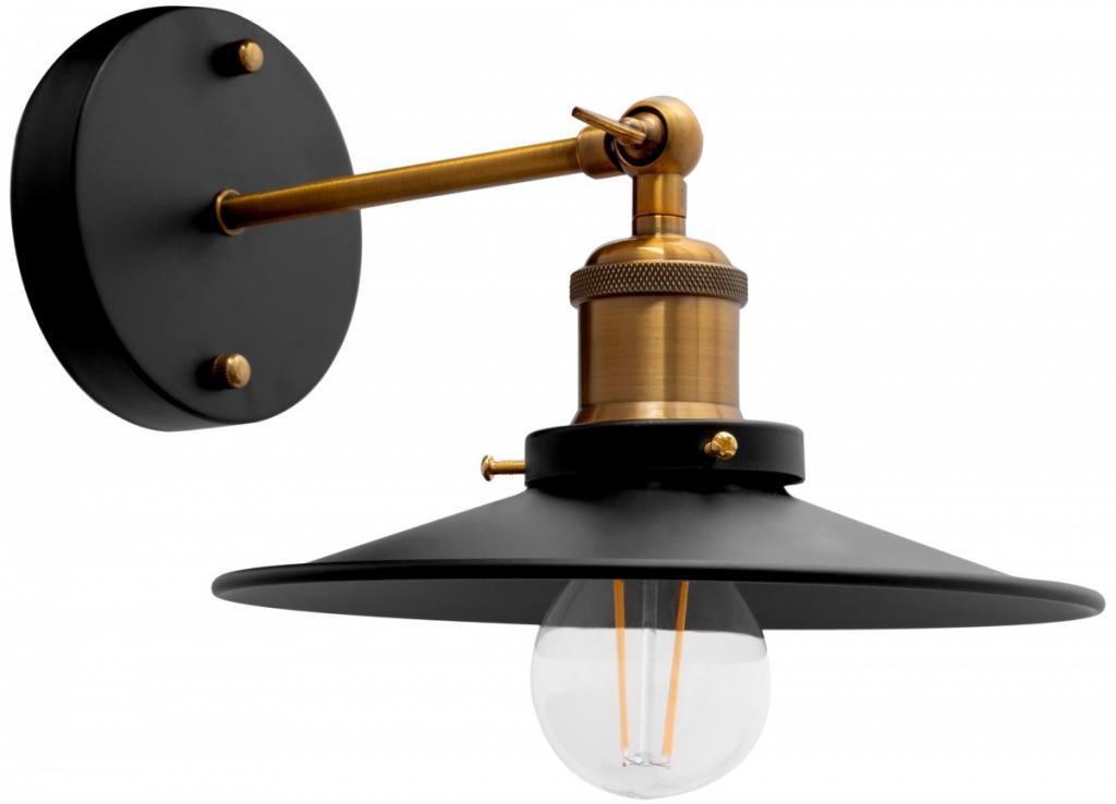 Produktové foto TooLight Nástěnná lampa PORTO KINKIET BLACK